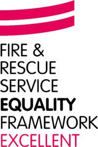 FRS Equality Framework Excellent logo