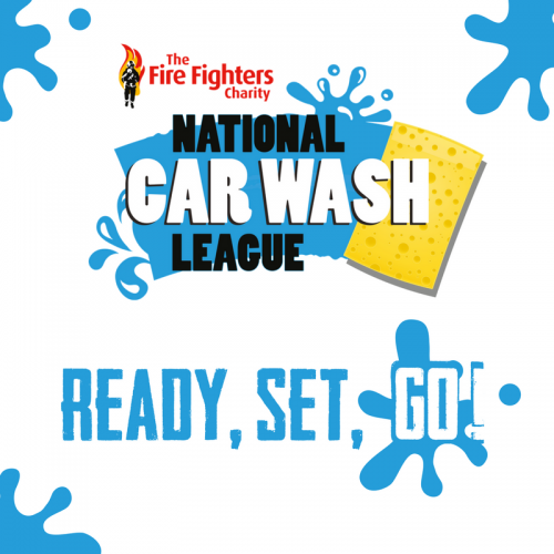 Fire Fighters Charity National Car Wash League - Ready, Set, Go!