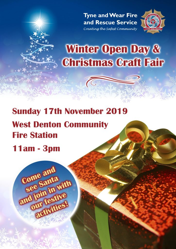 Winter Open Day and Christmas craft fair - Sunday 17th November 11am to 3pm