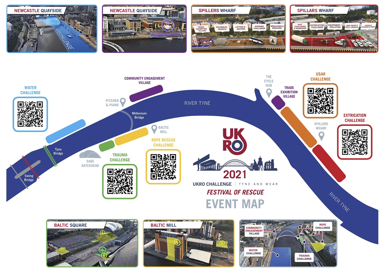 UKRO 2021 Event Map